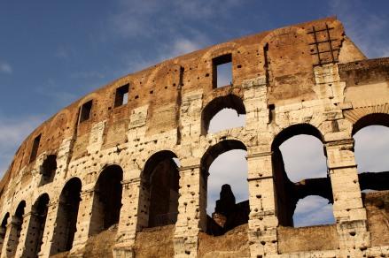The Coliseum exterior. Rome, Italy. (2013)