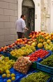 Street market on Island of Capri, Italy. (2013)