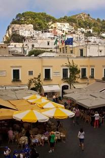 Piazza Umberto, Capri, Italy. (2013)