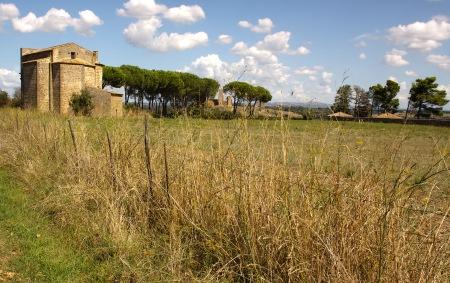 Chiesa della Madonna dell' Ulivo. Tuscania, Italy. (2013)