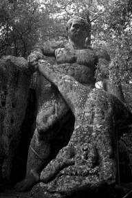 Battling Giants. Sacred Woods of Bormazo. Lazio, Italy. (2013)