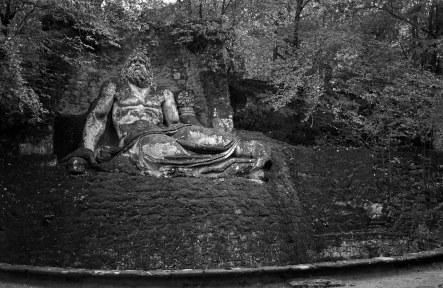 Neptune. Sacred Woods of Bormazo. Lazio, Italy. (2013)