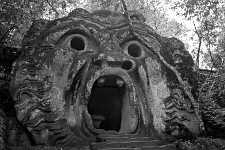 The Ogre. Sacred Woods of Bormazo. Lazio, Italy. (2013)