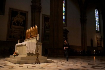 Interior of Santa Maria Del Fiore. Florence, Italy. (2013)