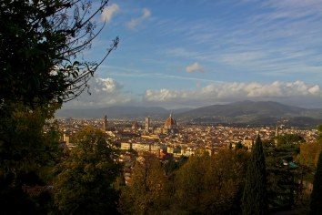 A view of Florence from Piazzale Michelangelo.