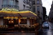 A corner restaurant in Paris, France. (2013)