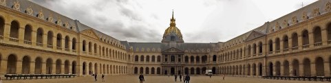 The French military building Les Invalides in Paris, France. (2013)