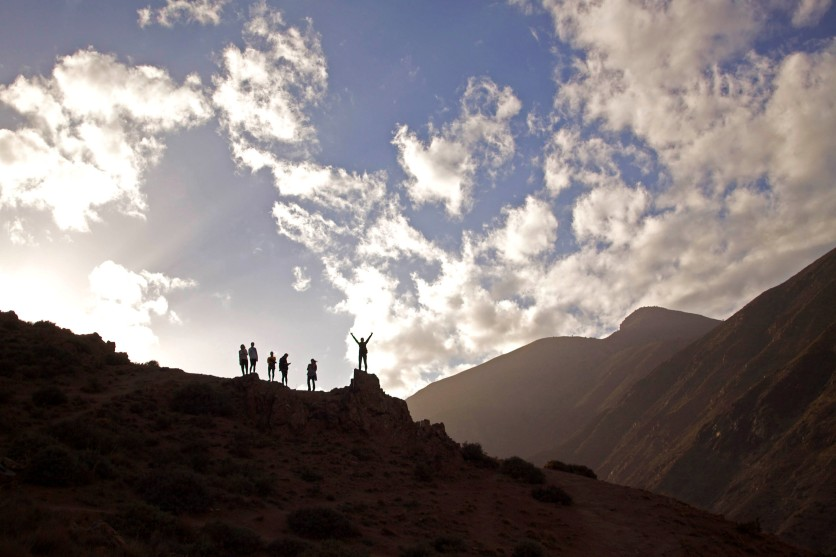 This pretty much sums up how it felt to study abroad. This shot was taken when we hiked in the Ourika Valley of the Atlas Mountains south of Marrakech, Morocco. (2013)