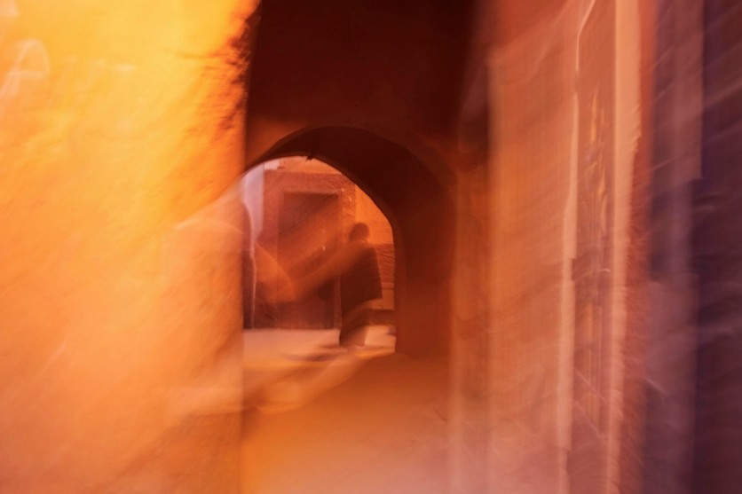 The passages within the medina walls are a world of their own. Marrakech, Morocco. (2013)
