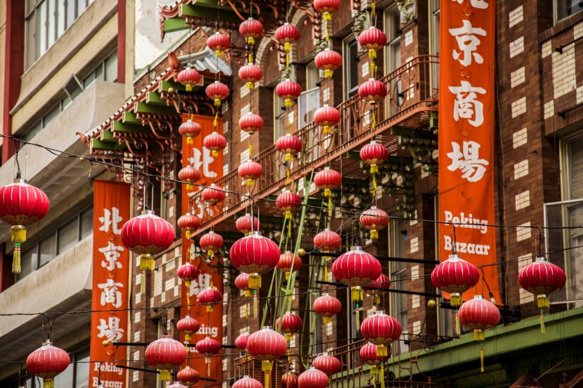 Chinatown. San Francisco, Calif. © Tony White 2015