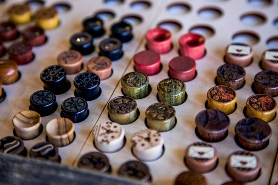 Omerica Organic has been creating body jewelry in Colorado since 2004. Their product line includes their signature ear plugs, above, as well as rings, necklaces and pendants.