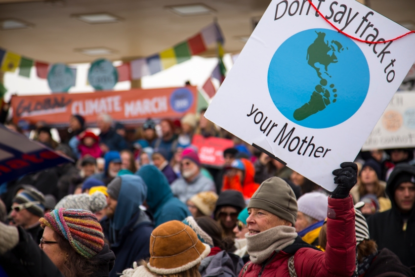 COP21 Denver Rally, Nov. 29, 2015.